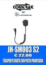 """JH-SM003 S2 : MIC. ALTOPARLANT-HEAVY DUTY CON CONNETTORE AD """"L"""" TIPO ICOM 333002"""