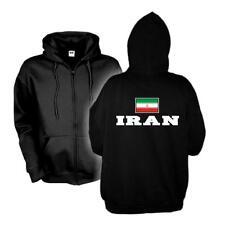 Kapuzenjacke IRAN Flagshirt Zip Hoodie Fan Sweatjacke S-6XL (WMS02-26e)