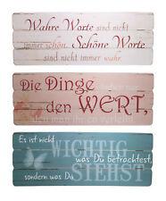 Holzschild mit Sprüchen Deko Schild mit Spruch Wandbild Vintage Retro Holz Deko