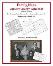 Family Maps Conway County Arkansas Genealogy AR Plat