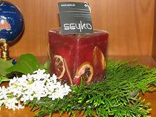 Früchtekerze m. Potpourri-Früchten duftend-Duftkerze- versch. Farben-Weihnachten