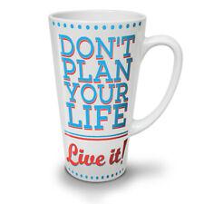 Vivi la tua vita piano Divertente Nuovo White Tea Tazza Da Caffè Latte Macchiato 12 17 OZ | wellcoda