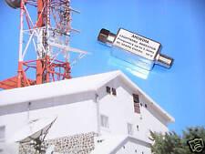 LIGHTNING SURGE PROTECTOR ARRESTOR SUPPRESSOR F CONNECTOR FOR CABLE SATELLITE