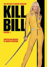 KILL BILL VOL VOLUME 1 ONE WIDESCREEN DVD MOVIE UMA THURMAN LUCY LIU FREE SHIP