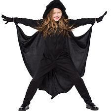 Girls Boys Bat Vampire Cosplay Costume  Halloween Fancy Dress Up Hooded Jumpsuit