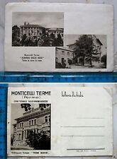 Monticelli Terme - Cure Termali stab. Terme Borrini - lettera illustrata -25279