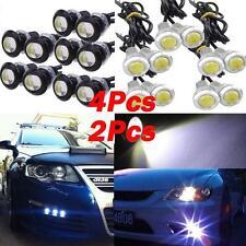 2/4x 9W LED DRL Eagle Eye Lights Car Fog DRL Daytime Reverse Parking Signal Good