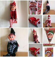 VIP Elf For Christmas Elf Shop Kids Gift Fun Sleigh,Bunting Elves Behavin Badly