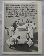 1968 Lotus Original advert