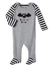 Koala Kids Infant Boys Halloween Sleeper Gray Batty for Daddy Sleep & Play