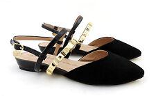Gaudi shoes Flats, Sandale schwarz Ballerinas Schuhe neu