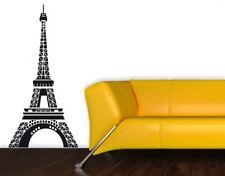 Wandtattoo Wohnzimmer Eifelturm Wandaufkleber Paris Kinderzimmer Flur uss161