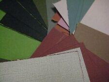 Sandable Cardstock Color Core Paper | Emboss, Cut, Tear, Sand