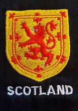 León Rampante de diseño de protector bordado en la sudadera con capucha Escocia Scottish escoceses