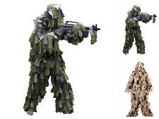 Mil-Tec Tarnanzug Ghillie Suit Oak Leaf 3D Tarnkleidung Camouflage Anzug M-XXL