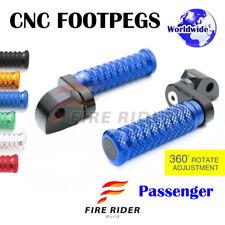 FRW CNC 6C 25mm Rear Footpegs For Triumph Speed Triple 955i 99-04 00 01 02 03 04