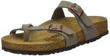 Birkenstock Mayari Nubuck Stone Womens Sandals Shoes