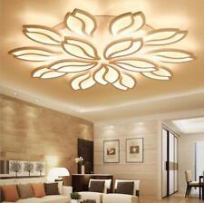Modern LED Ceiling Lamp Lotus Flower Pendant Lighting Bedroom LivingRoom Acrylic