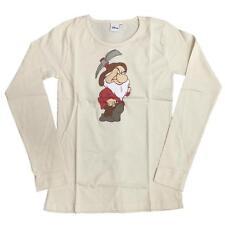 Maglietta Maniche Lunghe Donna Brontolo, Sette Nani Disney *06895