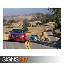 2008 CADILLAC CTS 13 (AD081) CAR POSTER - Photo Poster Print Art A0 A1 A2 A3 A4