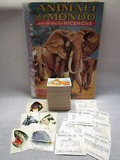 ANIMALI DEL MONDO-DELL'ARTE 1969-FIGURINA a scelta n.2/220-STICKER at choice-REC