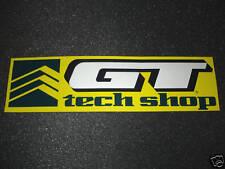 1 AUTHENTIC GT BICYCLES TECH SHOP AUTHORIZED DEALER STICKER #5 / DECAL AUFKLEBER
