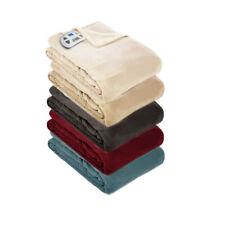 Pure Warmth Plush Electric Heated Warming Blanket Digital