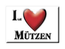 DEUTSCHLAND SOUVENIR - NIEDERSACHSEN MAGNET MÜTZEN (LÜCHOW DANNENBERG)