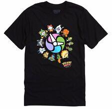 ANIME Yo-Kai Yokai Watch CHARACTERS T-Shirt NWT 100% Authentic