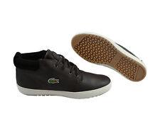 Lacoste Ampthill Terra Sneaker PUT SPM dark brown/dark brown Schuhe