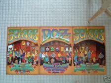 Boz Scaggs Fillmore Poster Set Of 3 Posters That Make One Big Poster Randy Tuten