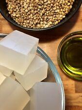 Hemp Melt & Pour Sulphate Free Soap Making Base - Glycerin - Precut - Free P&P