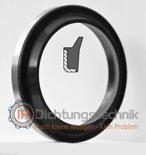 Abstreifer Scraper Wiper Metallkäfig/NBR schwarz/black