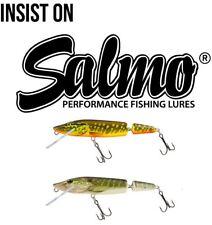 Salmo Jointed Floating Pike Crankbait / Pike Zander Lure Plug