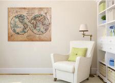 3D World Map 473 Wall Stickers Vinyl Wall Murals Print AJ WALLPAPER CA Carly