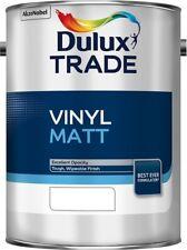Dulux Trade Vinyl Matt Pure Brilliant White / White / Magnolia / 2.5L / 5L / 10L