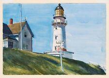 Edward Hopper-faro di due luci II Giclee stampa poster