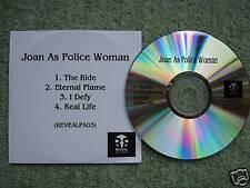 JOAN AS POLICE WOMAN - V. RARE ALBUM SAMPLER PROMO CD