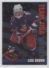 1994 Classic Women of Hockey W24 Lisa Brown Team USA (National Team) Rookie Card