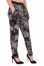 Ladies Floral Paisley Print Alibaba Hareem Women 2 Pockets Tie Dye Pants Trouser