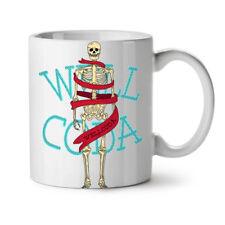 Anatomy Skeleton Skull NEW White Tea Coffee Mug 11 oz | Wellcoda