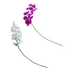 Artificial Silk Butterfly Orchid Flower Bouquet DIY Wedding Home Table Decor