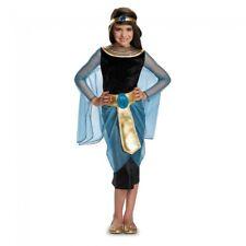 Girls Deluxe Cleopatra Costume Egyptian Goddess Fancy Dress Princess Child Kids