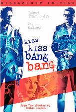 KISS KISS BANG BANG The MOVIE on a DVD with ROBERT DOWNEY JR and VAL KILMER of &