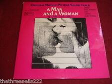 VINYL LP - A MAN AND A WOMAN - MOTION PICTURE SOUNDTRACK - SULP 1155