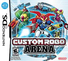 Custom Robo Arena (Nintendo DS, 2007) GAME ONLY NICE SHAPE NES HQ