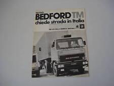 advertising Pubblicità 1977 BEDFORD TM
