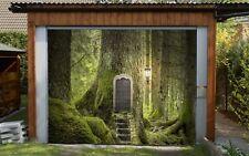 3D Trunk Tür Grün Garage Tür Wand Druck Abziehbild Wand AJ WALLPAPER DE Lemon