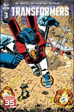 Transformers #1-3 | Cover A & B | 1:10 | IDW Comics NM 2019