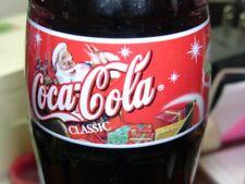 2001 Santa Christmas Bottle Coca-Cola Coke Bottle